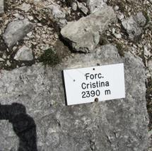 Forcella Cristina